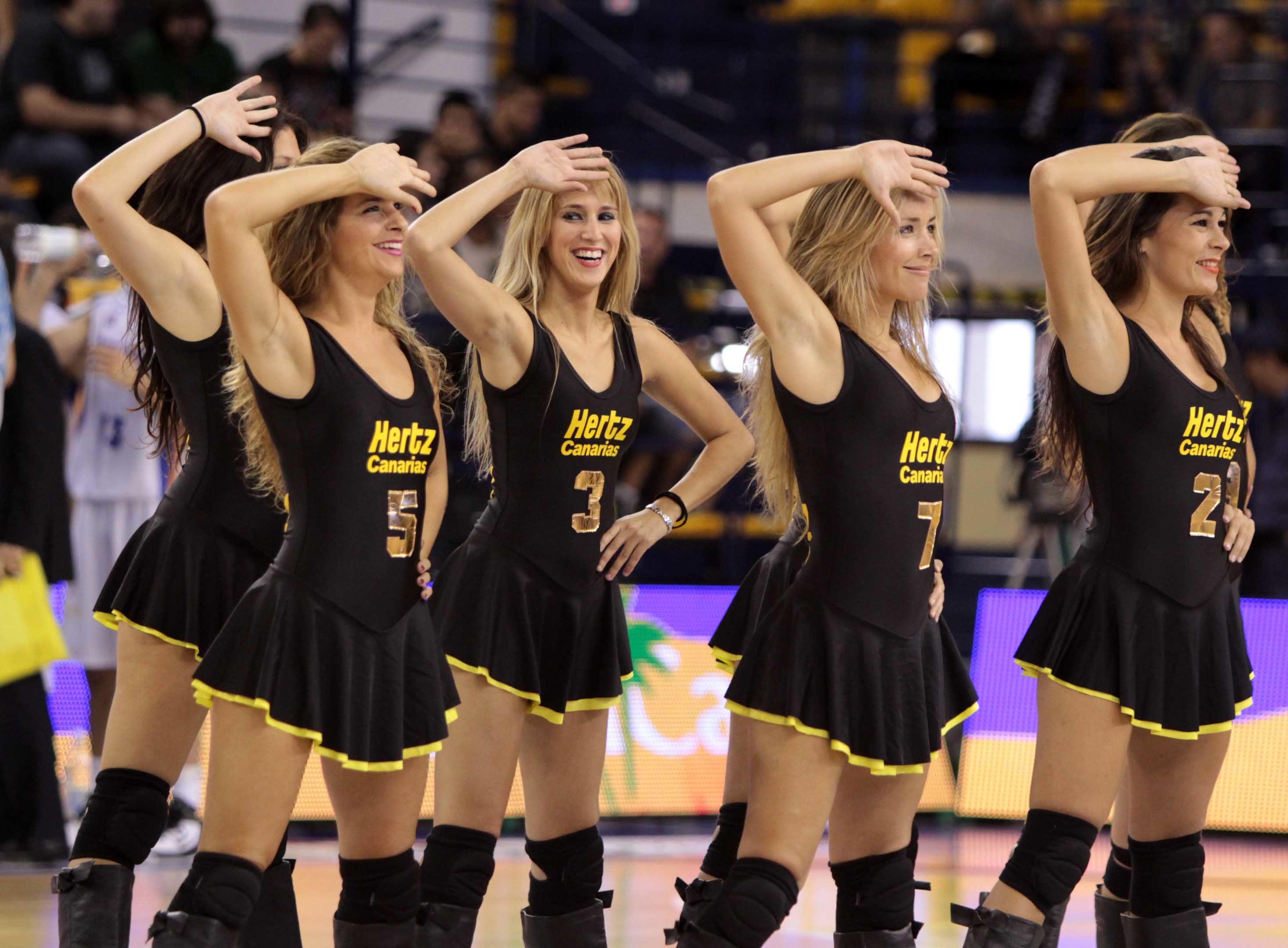 Personal Plus Basketball Cheerleaders | Personal Plus